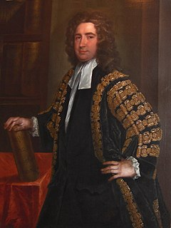 Thomas Carter (1690–1763) Master of the Rolls in Ireland
