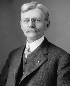 Indiana Democratic Party - Thomas Riley Marshall headshot