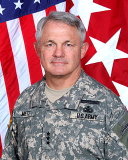 Thomas F. Metz Lieutenant General in the United States Army