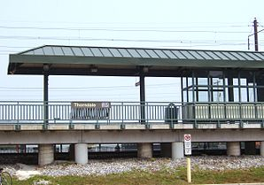 SEPTA Station in Thorndale