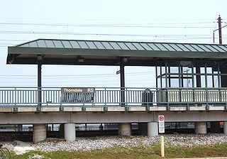 Thorndale station (SEPTA) rail station in Caln Township, Pennsylvania