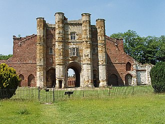 Gatehouse of Thornton Abbey from the inside Thornton Abbey Gatehouse.jpg