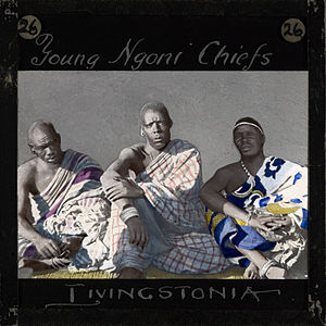 Ngoni people - Three Young Ngoni Chiefs, Malawi