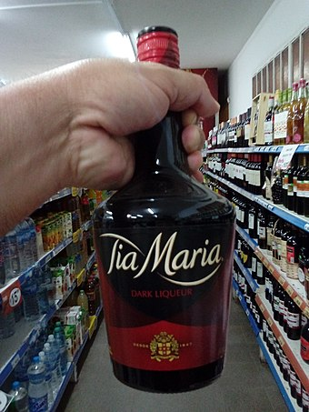 A bottle of Tia Maria at a grocery store in Argentina TiaMaria.jpg