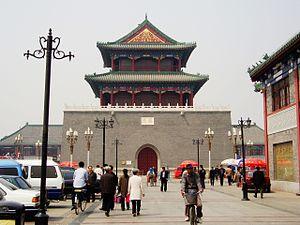 Torre del tambor en Tianjin.