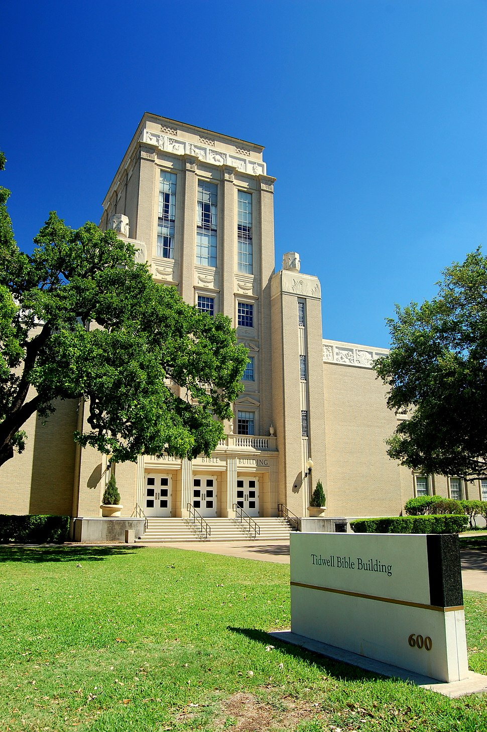 Tidwell Bible Building - Baylor University
