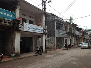 Tiên Yên District District in Northeast, Vietnam