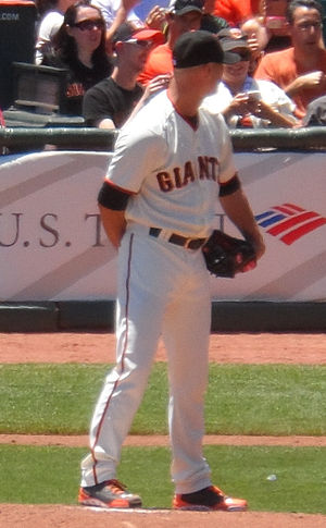 Tim Hudson - Hudson with the San Francisco Giants