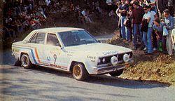 Timo Salonen - Datsun 160J (1979 Rallye Sanremo).jpg