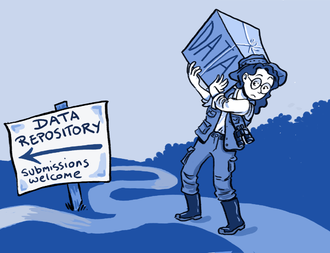 Data sharing - The decision whether and how to share data often rests with researchers.
