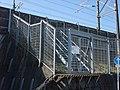 Tokaido Shinkansen maintenance workers stair - Hayakawa.jpg