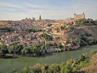 Toledo, Spain - Toledo and the Tagus River