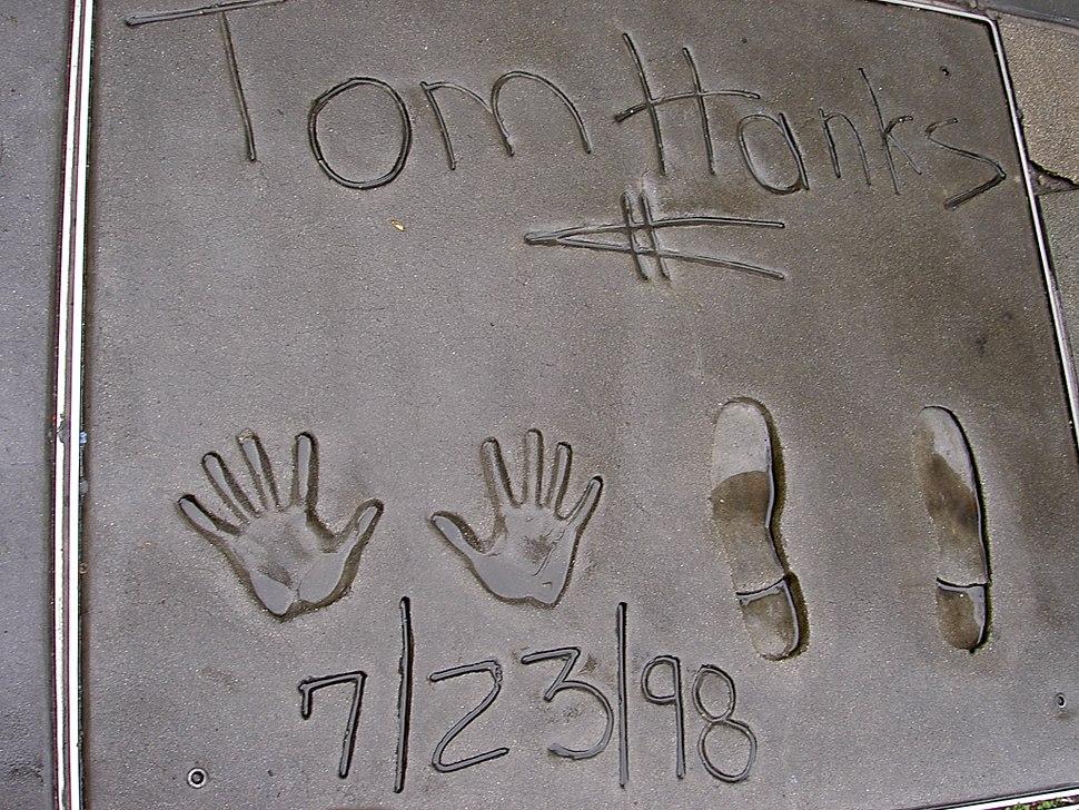 Tom Hanks - footprint