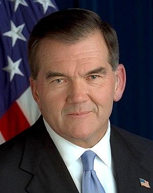 United States Secretary of Homeland Security - Tom Ridge