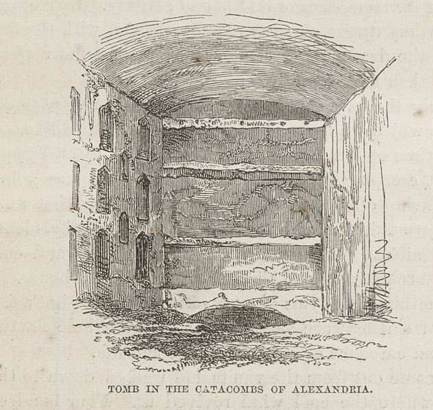 File:Tomb In The Catacombs Of Alexandria. (1874) - TIMEA.jpg