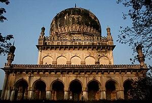 Abdullah Qutb Shah - Tomb of Abdullah Qutb Shah in Hyderabad, India.