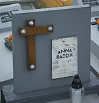 Tomb of Radzik family at Posada Cemetery in Sanok 2 Anna.jpg
