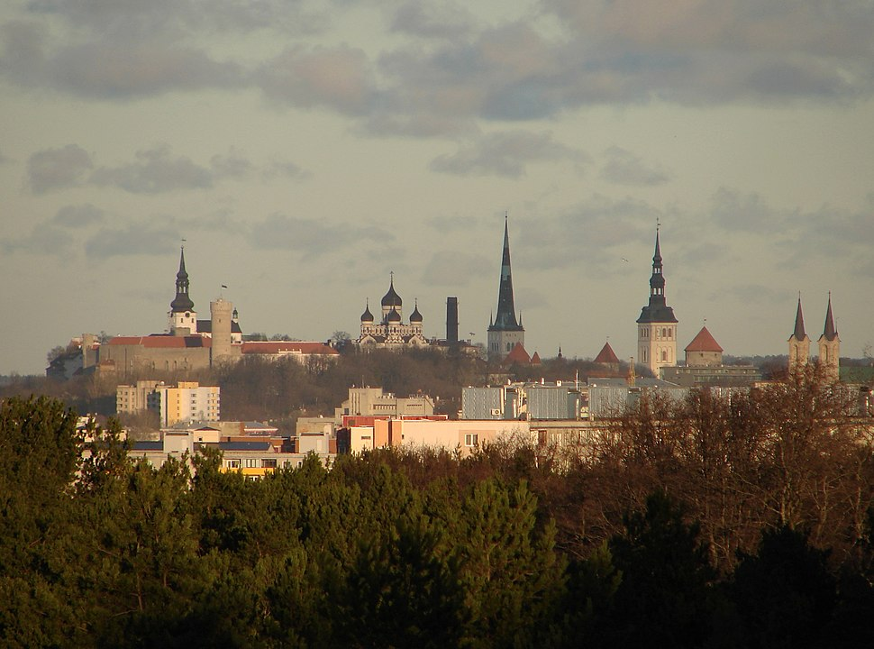 Toompea from Nõmme