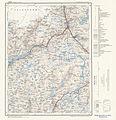 Topographic map of Norway, C35 vest Fjæra, 1960.jpg