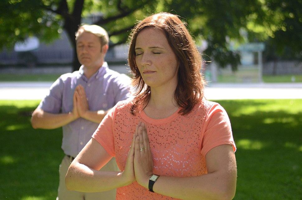 Toronto Falun Gong Exercises 3