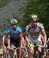 Tour de France 2010, gerdemann en rogers (14867409611).jpg