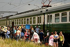 Tourists moved on Grusha fest.jpg