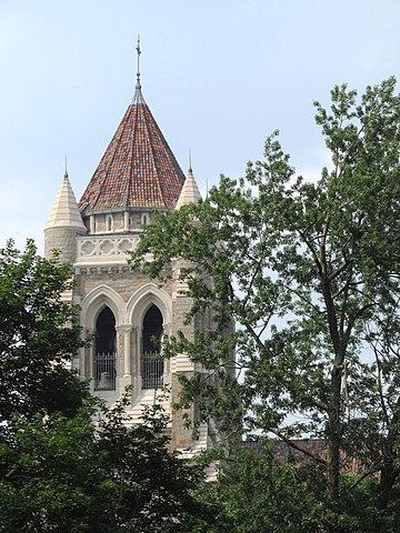 Tower of St. Bernard's Church