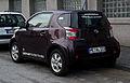 Toyota iQ 1.0 – Heckansicht, 3. April 2012, Velbert.jpg