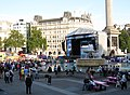Trafalgar Square, Paralympics big screen.JPG