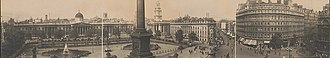 Trafalgar Square - Image: Trafalgar square england 1908
