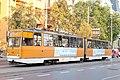 Tram in Sofia near Macedonia place 2012 PD 089.jpg