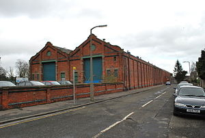 Dundee Museum of Transport - Image: Tram sheds geograph.org.uk 1195517