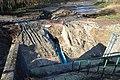 Travaux de restauration de la continuité écologique de la Mérantaise à Gif-sur-Yvette le 1er janvier 2015 - 07.jpg