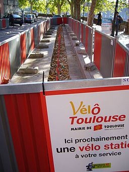 Travaux velostation toulouse
