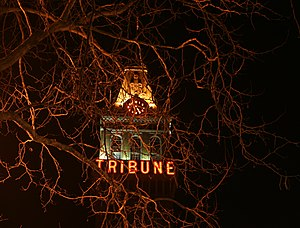 Oakland Tribune - The Tribune Tower was the headquarters of the Oakland Tribune from 1924 until 2007.