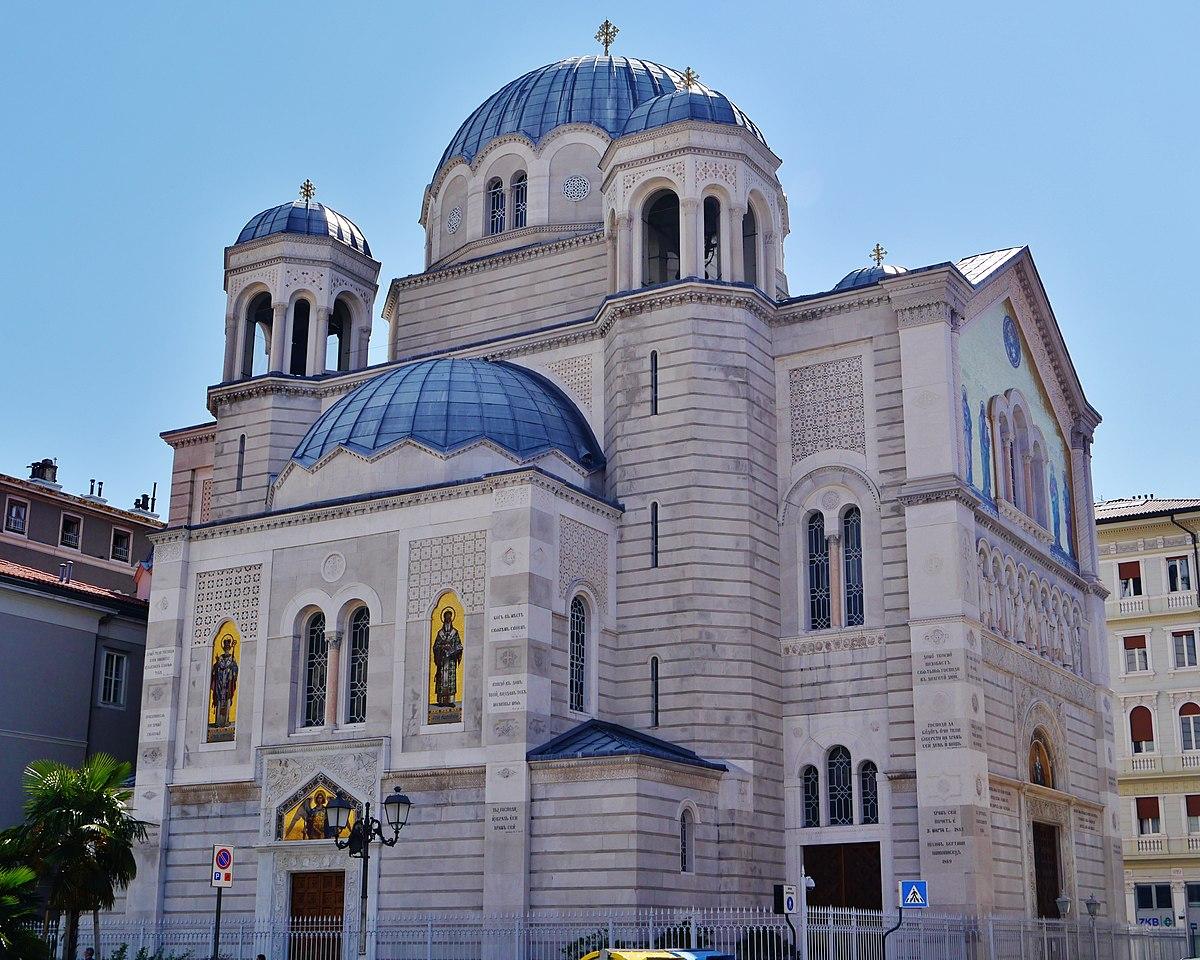 San Spiridon iglesia, Trieste - Saint Spyridon Church, Trieste ...