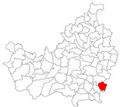 Vị trí của Tritenii de Jos