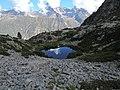 Trou d'eau avant les lacs de Pétarel, au-dessus.jpg