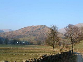 Troutbeck Tongue mountain in United Kingdom