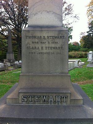 Thomas Somerville Stewart - Image: Tsstewartobelisk