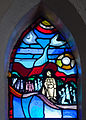 Tullow Church of the Most Holy Rosary North Transept Window Bishop Daniel Delany Detail Educational Work of Brigidine Sisters 2013 09 06.jpg