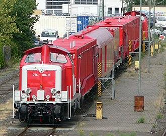 Hanover–Würzburg high-speed railway - Emergency Train in Hildesheim