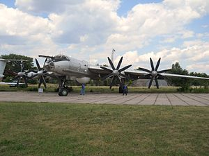 Tupolev bomber, Ukrainian State Aviation Museum.jpg