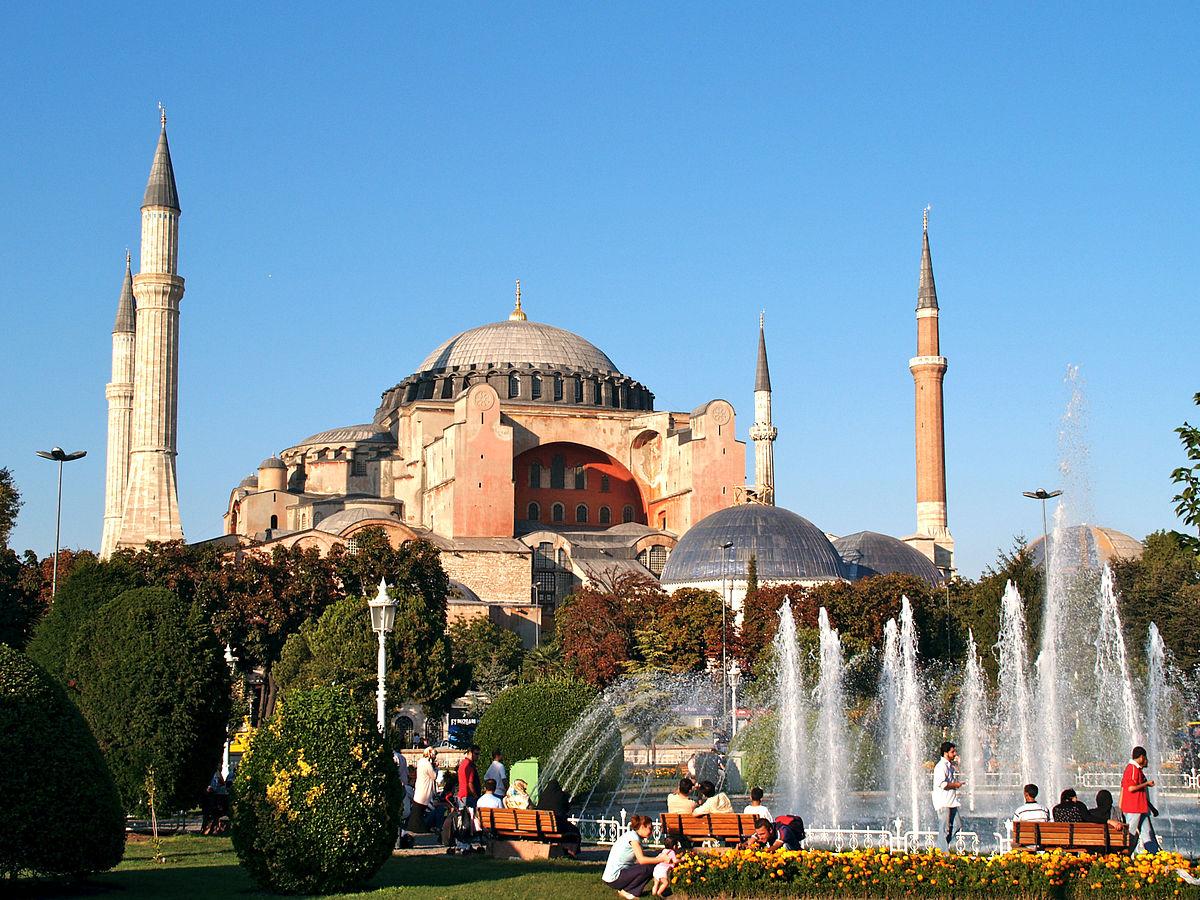 C A Turkey Istanbul Hagia Sofia – Wikipe...