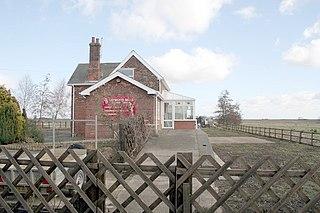 Twenty railway station Former railway station in Lincolnshire, England