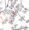Typhoon Wendy analysis 12 Jun 1960.png