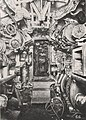 U-Boat 110, Electric Control Room looking aft (8766090141).jpg