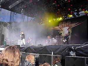 U.D.O. - U.D.O. performing live at Norway Rock Festival in 2009