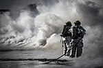 U.S. Air Force firefighters extinguish a fire during a fire training exercise at Mountain Home Air Force Base, Idaho, on March 4, 2013 130304-F-NW635-997.jpg