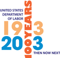 U.S. Department of Labor Centennial Logo.png